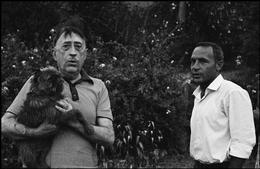 ITALY,Sicily, Capo d'Orlando: The italian Poet Lucio PICCOLO. (c) Ferdinando Scianna/Magnum Photos